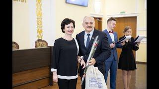В ГрГУ имени Янки Купалы чествовали лучших студентов-спортсменов и их тренеров