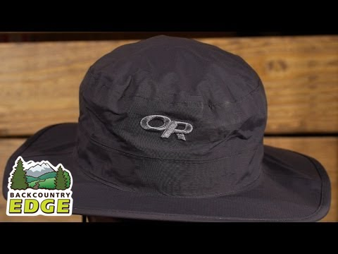 Outdoor Research Helios Rain Hat - YouTube 67d7929eeb3