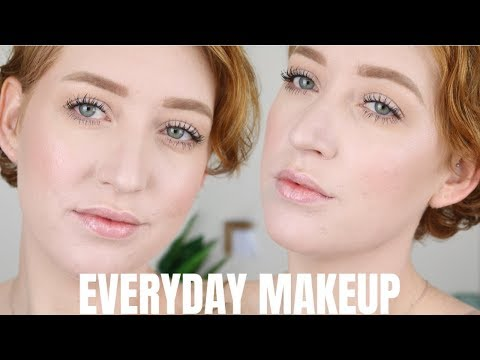 REAL LIFE EVERYDAY MAKEUP TUTORIAL (for fair/pale skin) 2018