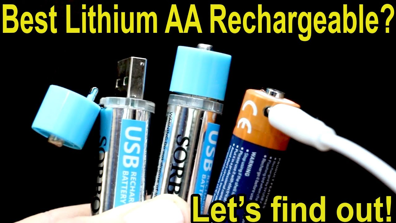 """Which """"Lithium"""" AA Rechargeable Battery is Best? Let's find out! - download from YouTube for free"""