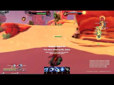 видео: gigantic - Геймплей