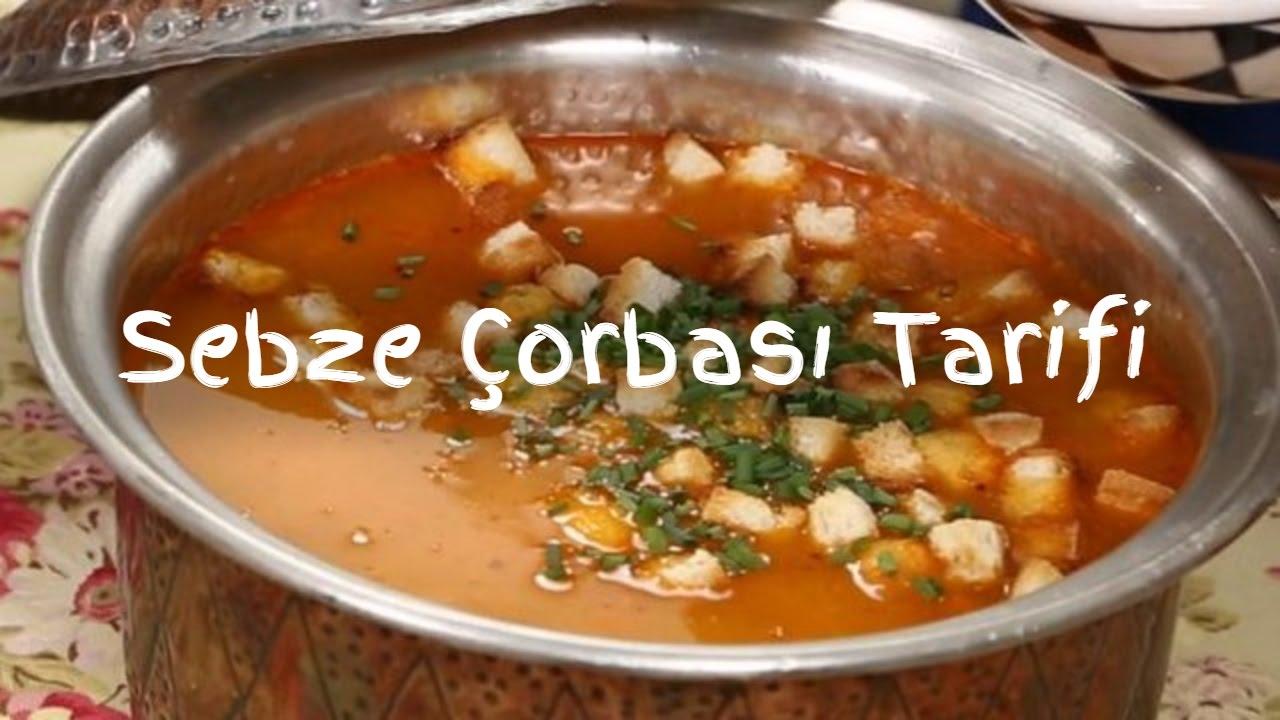 Sebzeli minestrone tarifi