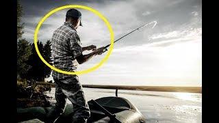 Это была последняя рыбалка для него! Рыбак просто вскрыл рыбу, а дальше вот, что произошло