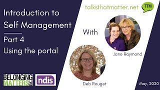 Introduction to Self Management Part 4 - Using the portal