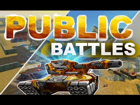 Joining  Public Random Battles! Tanki Online | $$$ Buying BEST Paint