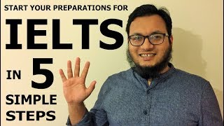 5 Simple Steps to Start your IELTS Preparation 5️⃣ 📝