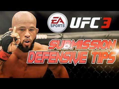 How To Get Out Of Submissions In EA Sports UFC 3!!