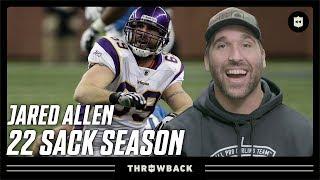 Jared Allen: The Crazy Fun Mullet Maniac! | Throwback Originals