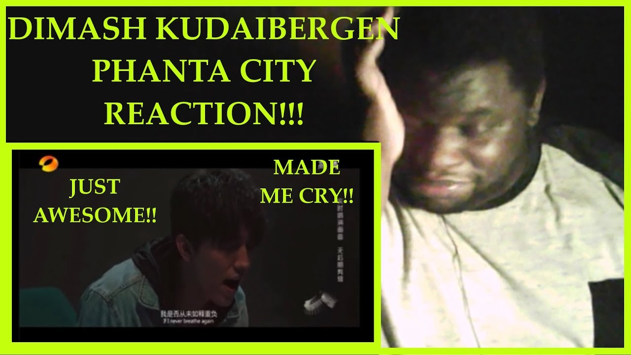 DIMASH KUDAIBERGEN: Phanta City REACTION! (omg!!) - Download Mp3