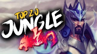Top 20 JUNGLER Plays #15   League of Legends