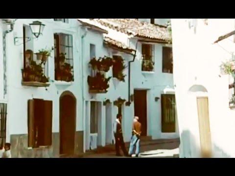 grazalema-en-el-año-1973---calles---serranía-de-ronda--industria-de-paños-y-mantas-telares