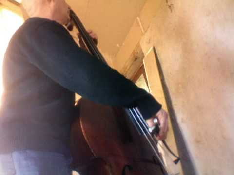 "BACH Suite No 1  "" Sarabande ""   Jean-pierre Robert   double bass contrebasse"