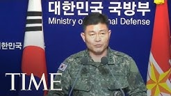 South Korea Urges North Korea To Stop 'Acts Of Heightening Military Tensions' | TIME