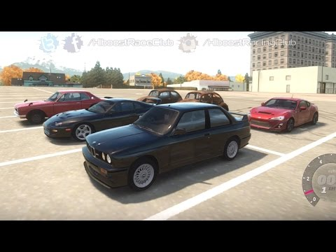 Forza Horizon | Street Car Highway Runs w/ V8 E30 M3, Mustangs, Supras, Beetles & More