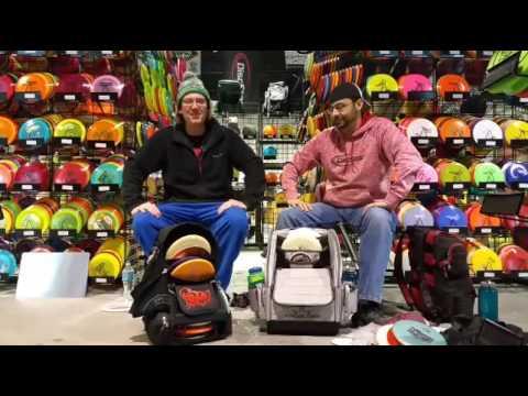 Fossa Skinny Disc Golf Backpack Bag Review - FB LIVE #17