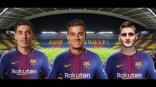 Barcelona top 5 transfer target 2017 ● verratti, coutinho, bellerin, mahrez.. ● hd