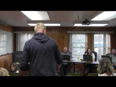 Lake County School District No. 7 Board Meeting 4-25-18