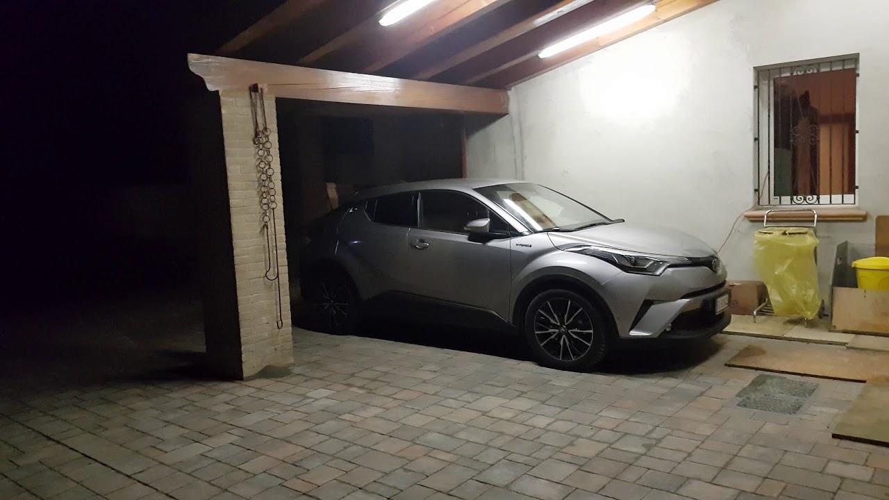 Illuminare a led il garage esterno si puÒ fare youtube