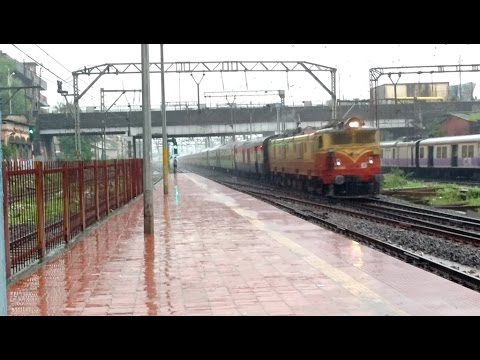 Mega Offlink: Monsoon Bash: BSL WAM4 In Power With LTT- Allahabad Duronto Thrashes Dombivli At MPS!!