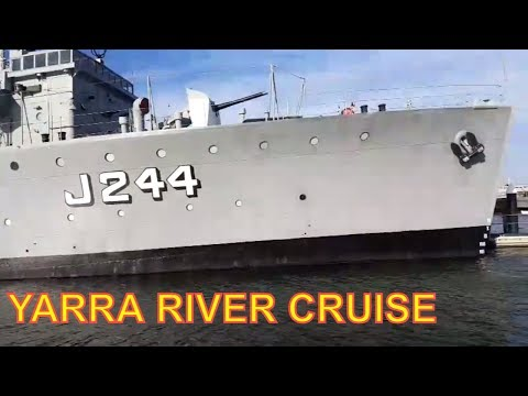 Melbourne Yarra River Boat Cruise from Williamstown