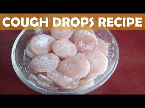 How to Make Homemade Lemon Ginger Cough Drops | Kalpana Talpade