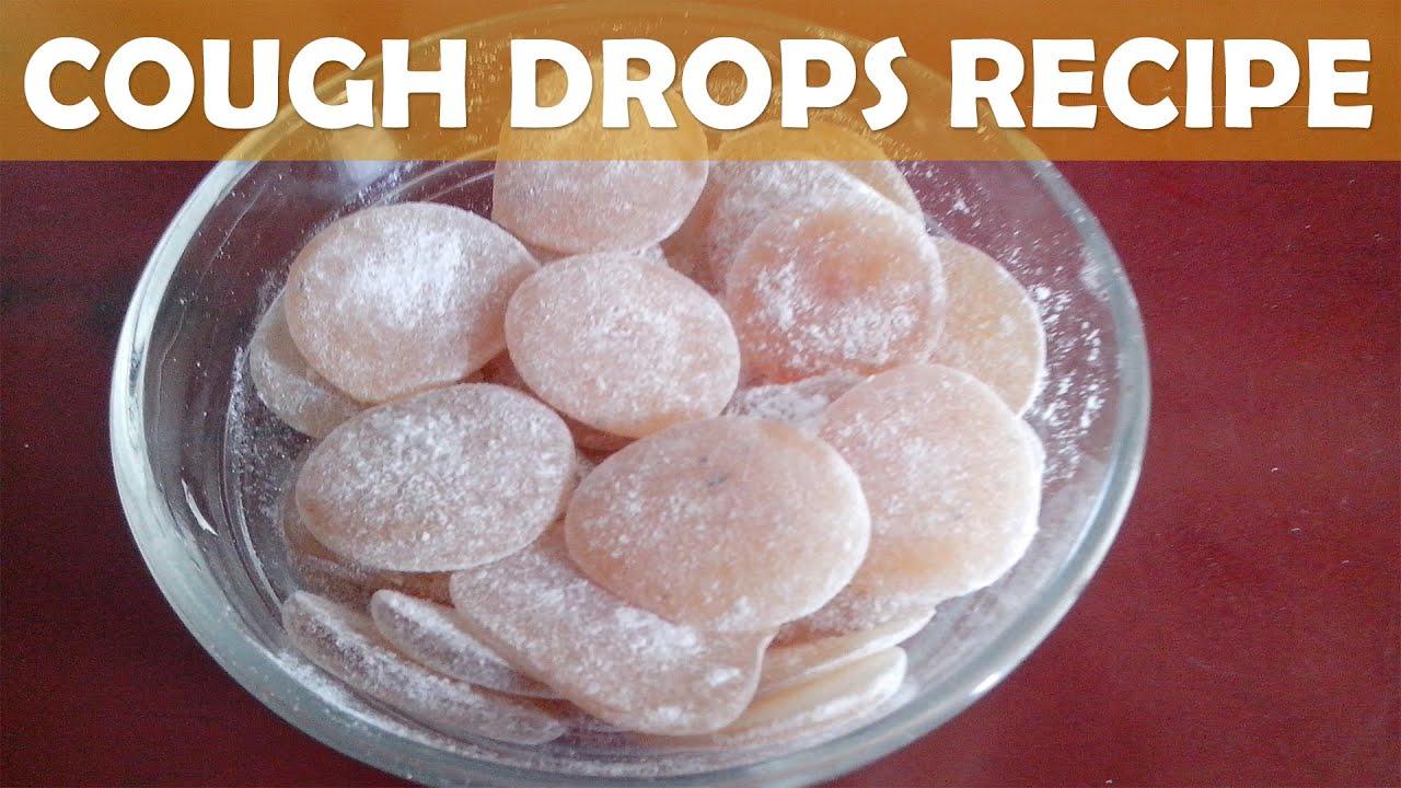 How To Make Homemade Lemon Ginger Cough Drops Kalpana