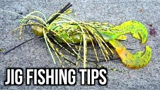 Jig Fishing Tips -  Bass Fishing Seminar