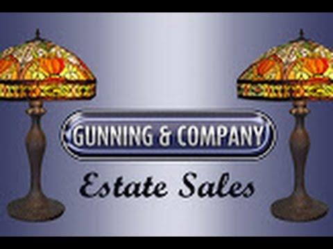GUNNING AND COMPANY ESTATE SALES, LLC SOUTH PHILADELPHIA, PA ESTATE SALE VIDEO