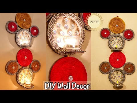 Unique Wall Hanging Craft Ideas| gadac diy| wall decoration at home| Craft Ideas| diy wall decor|