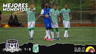 ARCO ZARAGOZA 1 - 2 Atlético Nacional | MEJORES MOMENTOS | TORNEO NACIONAL sub 17 Primera fase