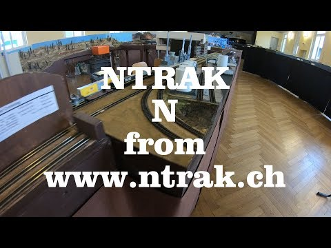 1. American Rail Convention 2018 SWITZERLAND - NTRAK N
