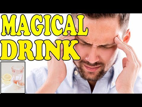 1 PINCH OF THIS MAGICAL INGREDIENT IN LEMON WATER WILL VANISH YOUR MIGRAINES AND HEADACHES