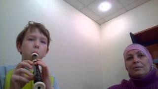 Блок флейта обучение)