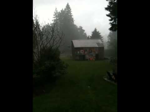 Whonnock downpour