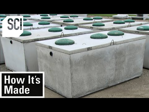 How It's Made: Septic Tanks