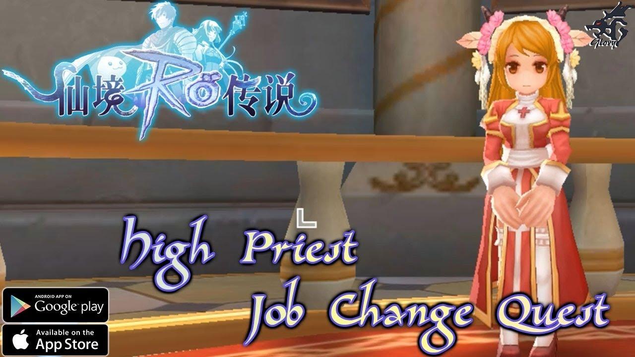 Hair Style Quest Ragnarok Mobile: High Priest Job Change Quest