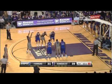 #1 Kansas vs Kansas State - Feb 14 2011 - Full Game - Basketball