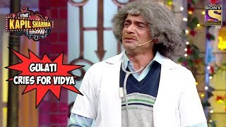 Dr Mashoor Gulati Cries For Vidya Balan - The Kapil Sharma Show