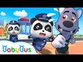 Panda Policeman Patrol Team | Super Rescue Team | Monster Police Car | BabyBus