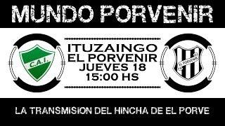 Fecha 34: Ituzaingó vs El Porvenir - EN VIVO
