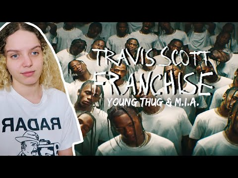 Travis Scott - Franchise ft. Young Thug & M.I.A. (OFFICIAL MUSIC VIDEO)  [ Reaction ]