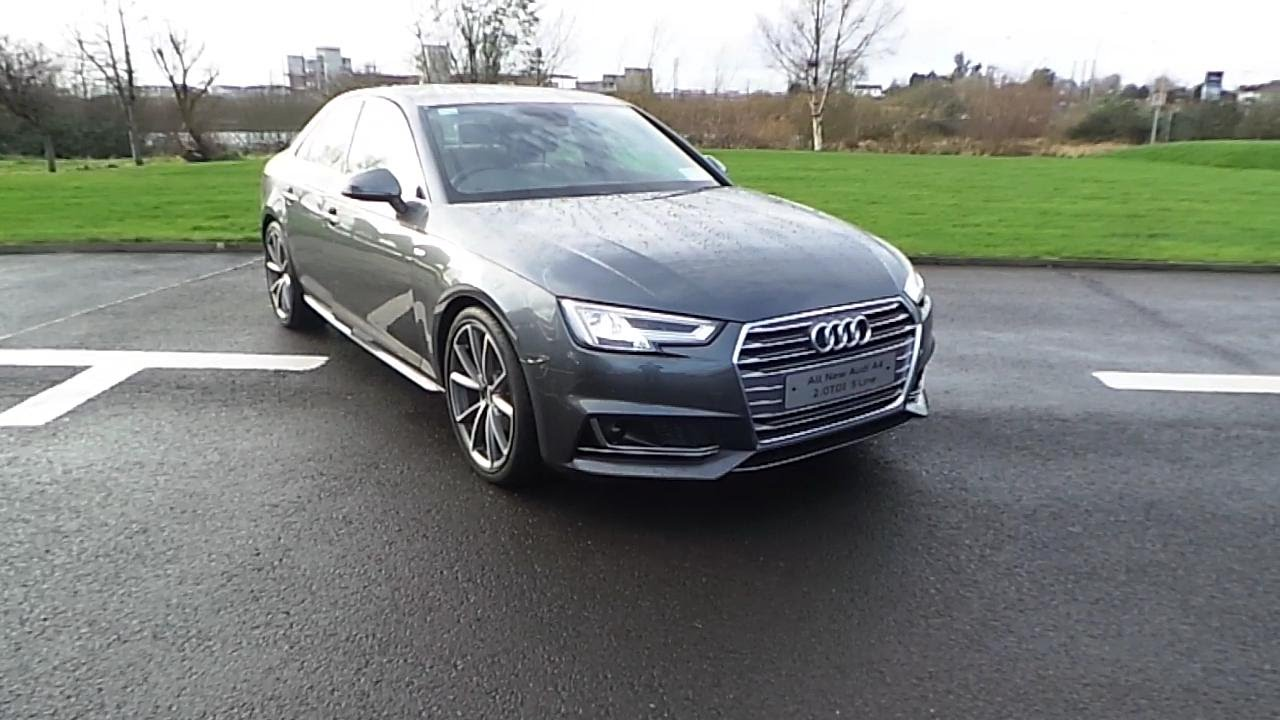 161 2016 audi a4 2 0tdi 150 s line youtube for S line exterieurpaket a4