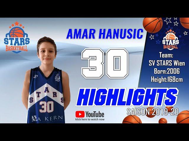 Stars Highlights Factory : AMAR HANUSIC Saison 2019-20