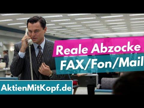 Wolf of Wallstreet in Echt? Vorsicht Geldabzocke bei Fon/FAX/Mail/Facebook!
