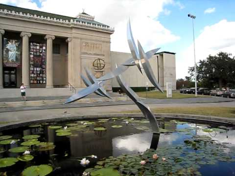Kinetic Sculpture at the New Orleans Museum of Art