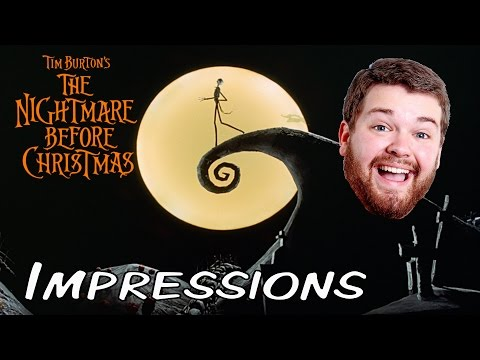 Nightmare Before Christmas Impressions