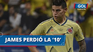 ¿Qué mensaje le manda Carlos Queiroz a James Rodríguez entregándole la '10' a Steven Alzate?