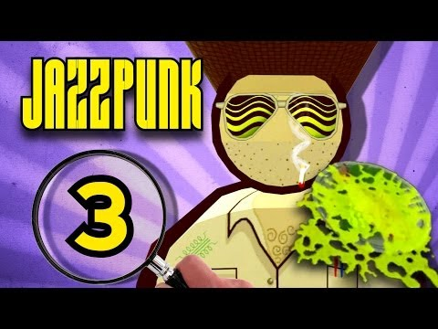 Jazzpunk: COWBOY vs. SUSHI (Part 3)