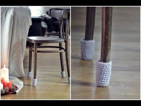 Носочки для ножек стульев своими руками. Самый бюджетный вариант!!!!