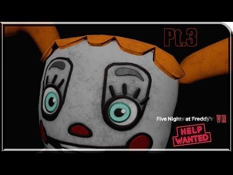 PROGRESS!!   FNAF VR Help Wanted Pt 3 - 24видео рф